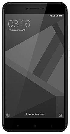 Redmi 4 (Black, 16 GB)-Electronics-Mi-Helmetdon