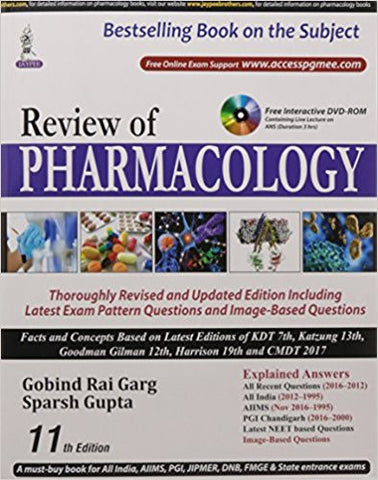 Review of Pharmacology-Books-TBHPD-Helmetdon