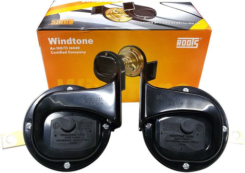 Roots Original Windtone Skoda Type Horn (12V)-Horns-Roots-Helmetdon