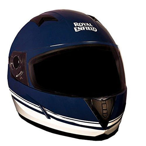 Royal Enfield HES16010 Full Face Helmet (Lagoon, Medium)-Royal Enfield-Helmetdon