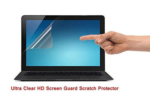 Saco Ultra Clear HD Screen Guard Scratch Protector for Apple MacBook Air 13 Inch (2018 Model A1932 Touch ID)-CE-Saco-Helmetdon