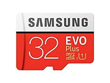 Samsung EVO Plus Grade 1, Class 10 32GB MicroSDHC 95 MB/S Memory Card with SD Adapter-Computers and Accessories-Samsung-Helmetdon