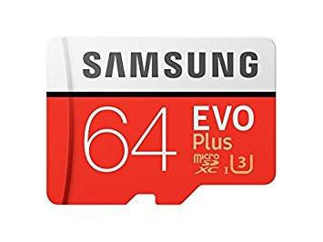 Samsung EVO Plus Grade 3, Class 10 64GB MicroSDXC 100 MB/S Memory Card with SD Adapter (MB-MC64GA/IN)-Computers and Accessories-Samsung-Helmetdon