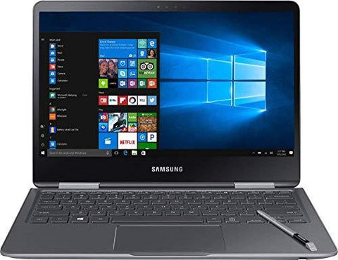 Samsung Notebook 9 Pro NP940X3M-K01US 13.3 Touch Screen Laptop, Intel Core i7-7500U up to 3.5GHz, 8GB DDR4, 256GB SSD, Backlit K-Personal Computer-Samsung-Helmetdon