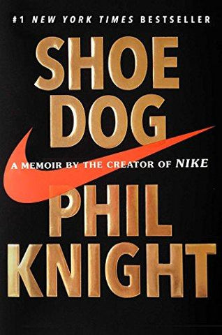 Shoe Dog: A Memoir by the Creator of Nike-Book-Scribner Book Company-Helmetdon