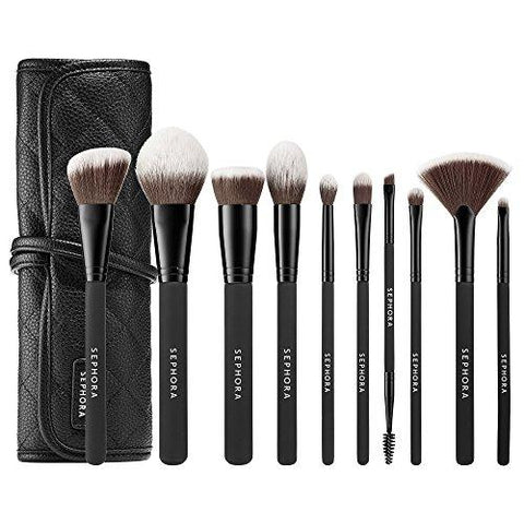 ShopUSAIndia SEPHORA COLLECTION Ready To Roll Brush Set-Health and Beauty-Unknown-Helmetdon