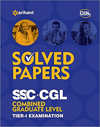 Solved Papers (upto 2015) SSC CGL Combined Graduate Level Pre. Examination Tier 1-Books-TBHPD-Helmetdon