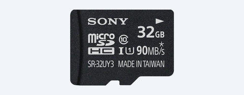 Sony SR-UY3A Series microSD Class 10 - 90Mbps Memory Card-Electronics-Sony-32GB-90Mbps-Helmetdon