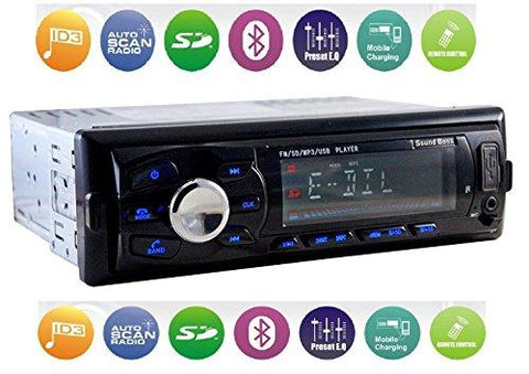 Sound Boss Sb 3246bt Detachable Car Stereo With Bluetooth Helmet Don
