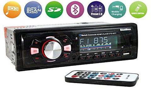 Sound Boss SB-48 Car Stereo with Bluetooth-Sound Boss-Helmetdon