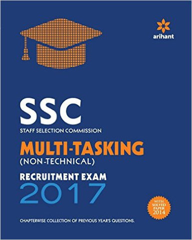 SSC Multi-tasking (Non-technical) Recruitment Exam 2017-Books-TBHPD-Helmetdon