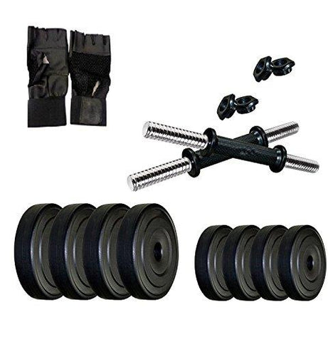 Star X PVC-20KG Combo SX Dumbbells Kit-Sports-StarX-Helmetdon