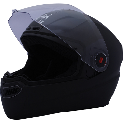 Steelbird Air SBA-1 Dashing Full Face Helmet-Helmets-Steelbird-M (56 to 58 cm)-Black-Helmetdon