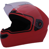 Steelbird Air SBA-1 Dashing Full Face Helmet-Helmets-Steelbird-M (56 to 58 cm)-Red-Helmetdon
