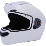 Steelbird Air SBA-1 Dashing Full Face Helmet-Helmets-Steelbird-M (56 to 58 cm)-White-Helmetdon