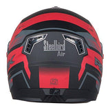 Steelbird R2k Night Vision Full Face Helmet (Matt Black and Red, M)-Automotive Parts and Accessories-Steelbird-Helmetdon