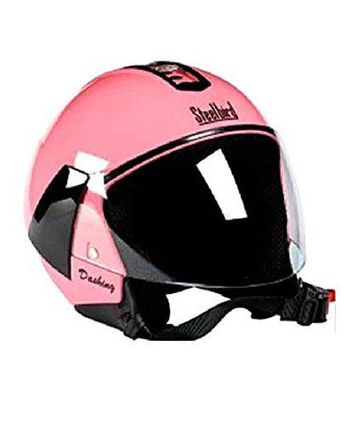 Steelbird SB33 Eve Dashing Open Face Helme Pink (RK)-Steel bird-Helmetdon