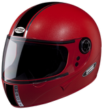 Studds Chrome Economy Full Face Helmet-Helmets-Studds-XL (Head Size 60 cm)-Red-Helmetdon