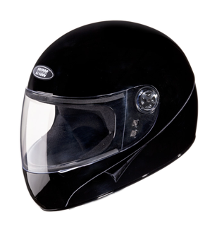 Studds Chrome Super Full Face Helmet-Helmets-Studds-XL (Head Size 60 cm)-Black-Helmetdon