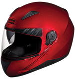 Studds Shifter Full Face Helmet-Helmets-Studds-XL (Head Size 60 cm)-Cherry Red-Helmetdon