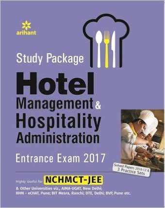 Study Package Hotel Management & Hospitality Administration Entrance Exam 2017-Books-TBHPD-Helmetdon