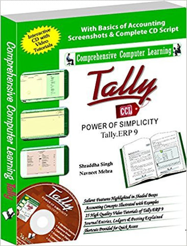 Tally Erp 9 (Power of Simplicity)-Books-TBHPD-Helmetdon