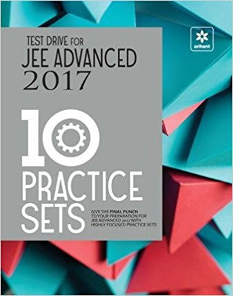 Test Drive for JEE Advanced 2017 - 10 Practice Sets-Books-TBHPD-Helmetdon
