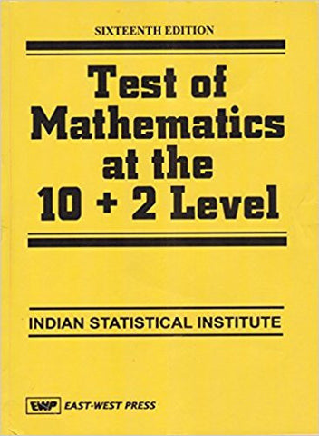 Test of Mathematics at the 10+2 Level, 16/e-Books-TBHPD-Helmetdon