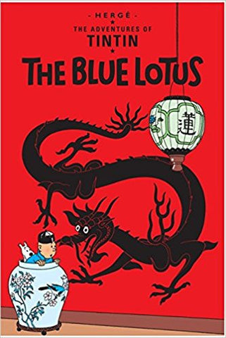 The Blue Lotus (Tintin)-Books-TBHPD-Helmetdon