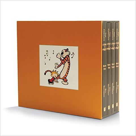 The Complete Calvin and Hobbes (Set of 4 Books)-Books-TBHPD-Helmetdon