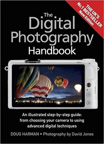 The Digital Photography Handbook: An Illustrated Step-by-step Guide-Books-TBHPD-Helmetdon