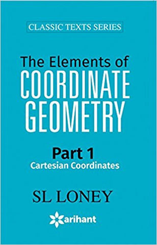 The Elements of COORDINATE GEOMETRY Part-1 Cartesian Coordinates-Books-TBHPD-Helmetdon