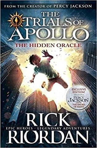 The Hidden Oracle: The Trials of Apollo - Book 1-Books-TBHPD-Helmetdon