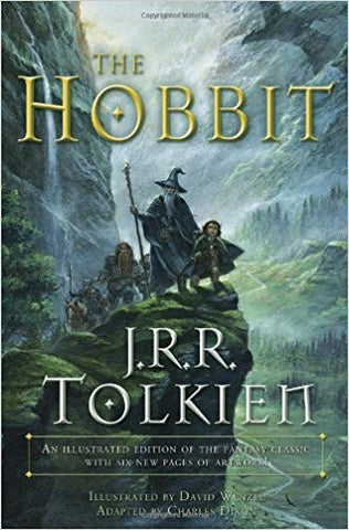 The Hobbit (Graphic Novel): An illustrated edition of the fantasy classic-Books-TBHPD-Helmetdon