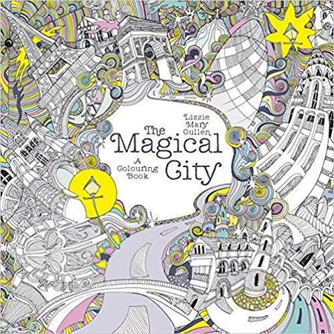 The Magical City (Magical Colouring Books for Adults)-Books-TBHPD-Helmetdon