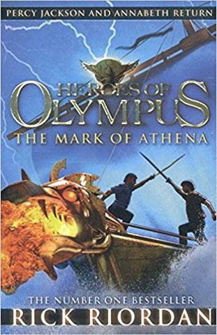 The Mark of Athena (Heroes of Olympus Book 3)-Books-TBHPD-Helmetdon