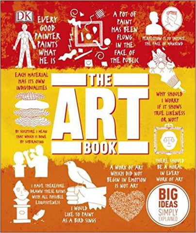 The (New) Art Book (Big Ideas Simply Explained)-Books-TBHPD-Helmetdon