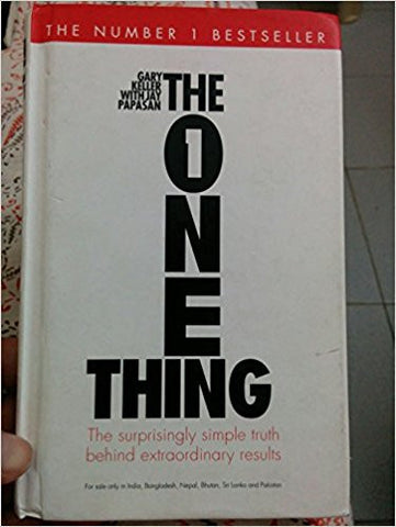 The One Thing-Books-TBHPD-Helmetdon