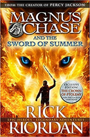 The Sword of Summer (Magnus Chase and The Gods of Asgard Book 1)-Books-TBHPD-Helmetdon