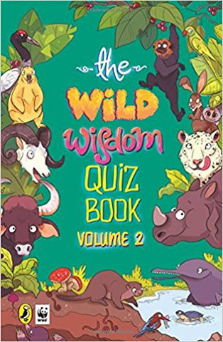 The Wild Wisdom Quiz Book Vol. 2-Books-TBHPD-Helmetdon