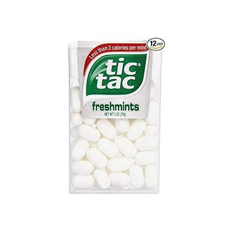 Tic Tac Freshmints - 12 Count-Beauty-Tic Tac-Helmetdon