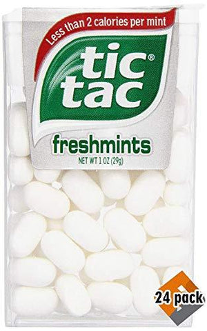 Tic Tac Mints, Freshmints, 1 oz. (12 Count) (3 Pack(12 Count))-Beauty-Tic-Tac-Helmetdon