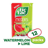 Tic Tac Mints Watermelon Lime Mixers 1oz. (12 Count)-Sports-Tic Tac-Helmetdon