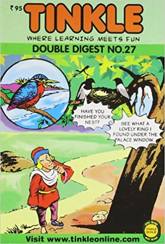 Tinkle Double Digest No. 27-Books-TBHPD-Helmetdon