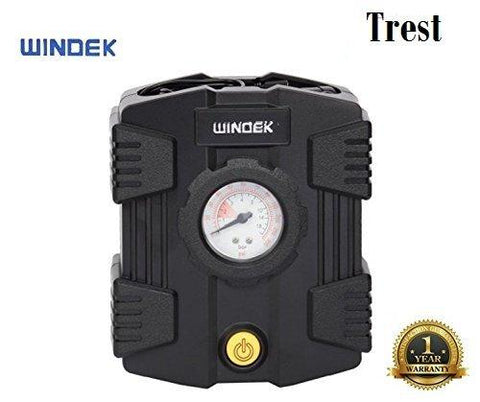 Trest Windek Analog Compact Tyre Inflator Air Pump 1501 for All Car & Bike-Automotive Parts and Accessories-Trest-Helmetdon