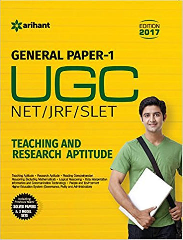 UGC NET/JRF/SLET General Paper-1 Teaching & Research Aptitude-Books-TBHPD-Helmetdon