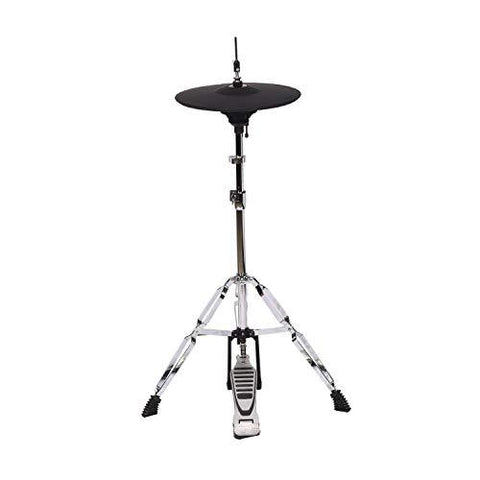 Vault ED-10MH USB Professional 5 Piece Electronic Mesh Drum Kit with High  Hat Stand