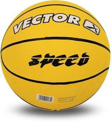 Vector X BB-Speed Basketball, Adult Size 5 (Yellow)-Sports-Vector X-Helmetdon