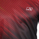 Vector X VRS-006 Sublimation T-Shirt (Red-Black)-Sports-Vector X-Helmetdon