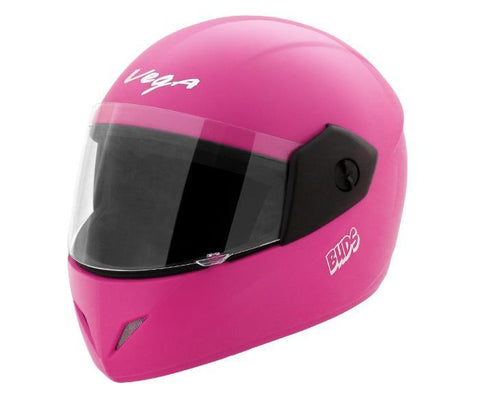 Vega Buds Junior Full Face Helmet for Kids-Helmets-Vega-50-54 CM Kids-Pink-Helmetdon